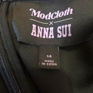 Modcloth Dresses - ModCloth Anna Sui Rooted In Retro Maxi Dress